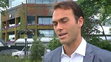 News video: Tennis star Ross Hutchins says Murray 'should be confident'